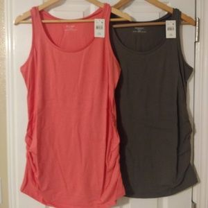 Lot of two maternity tank tops